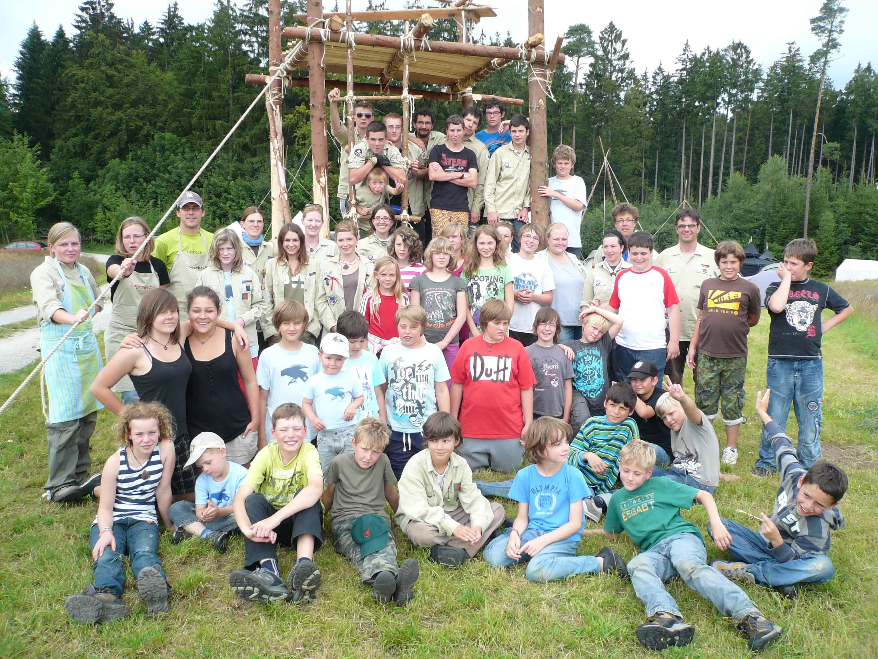 Sommerlager Altmannsweiler 2011