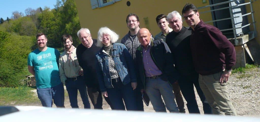Fördervereinsvor-stand und freie Mitarbeiter 2017