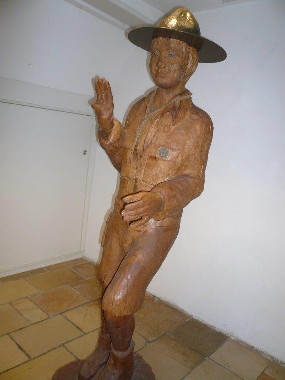 Holzpfadie