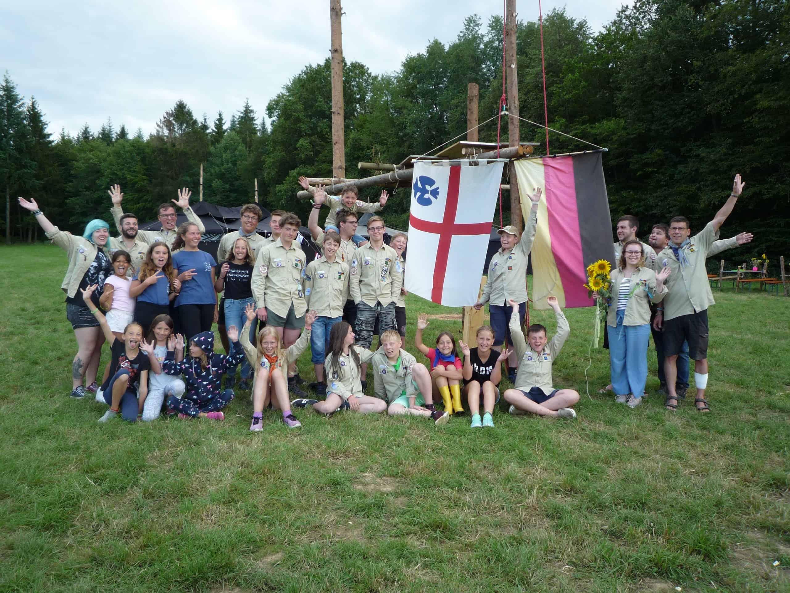 Sommerlager 2019 Gruppenbild