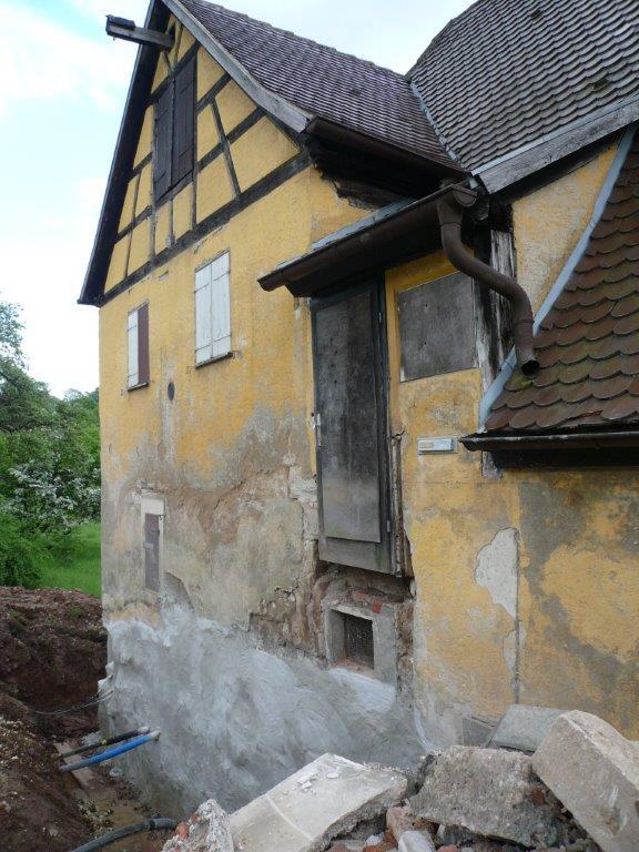 Sanierung des Außenputzes